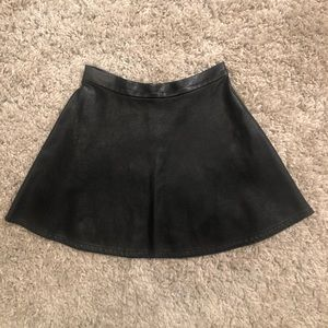 American Eagle Pleather Skirt
